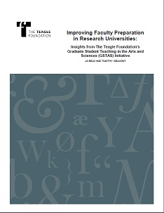 Improving Faculty Preparation in Research Universities
