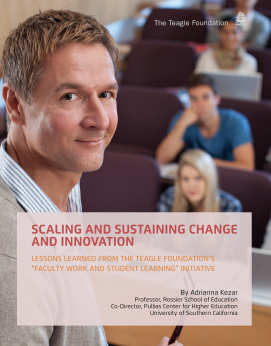 Scaling and Sustaining Change and Innovation